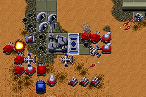 Attacking the Atreides in the final mission