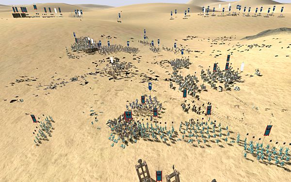 Three Pontic armies fight six Roman armies...