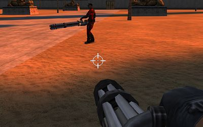 Gaming's biggest miniguns