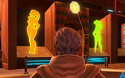 Is my Jedi gonna get to visit a strip club?
