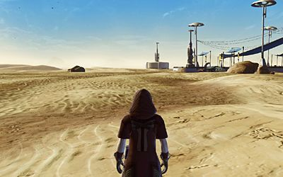 Why does every Star Wars game end up on Tatooine at some point?