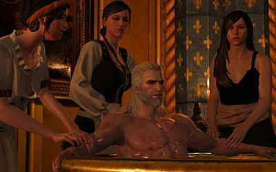 Oh Geralt you naughty boy