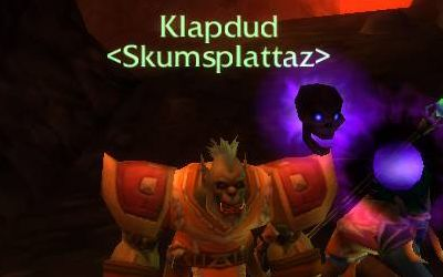 Klapdud finally discovers who's been tapping him on the shoulder