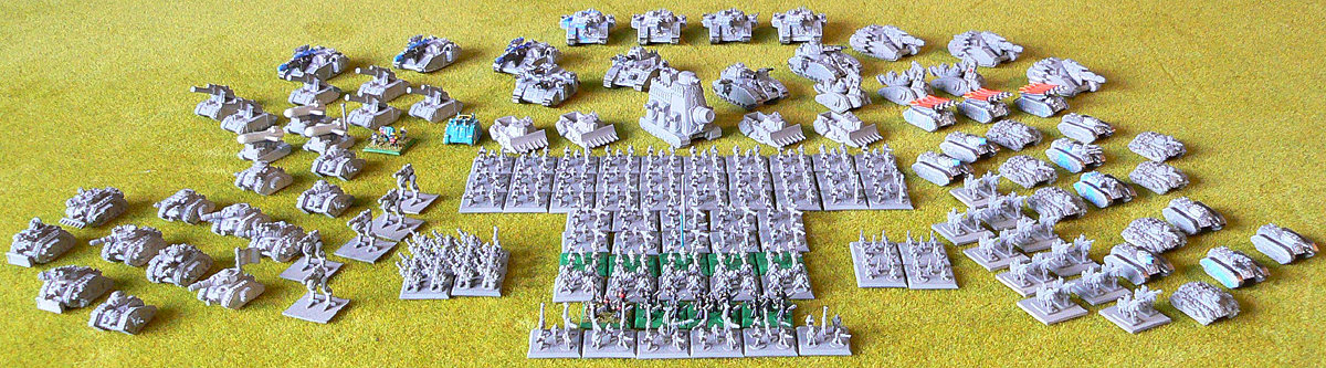 Epic Imperial Guard army<br />Photo taken August 2010