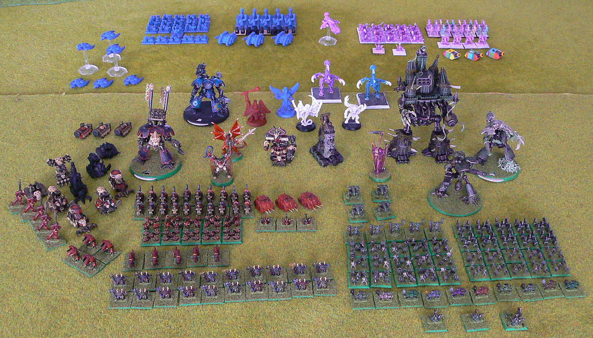 Epic Chaos army<br />Photo taken February 2015