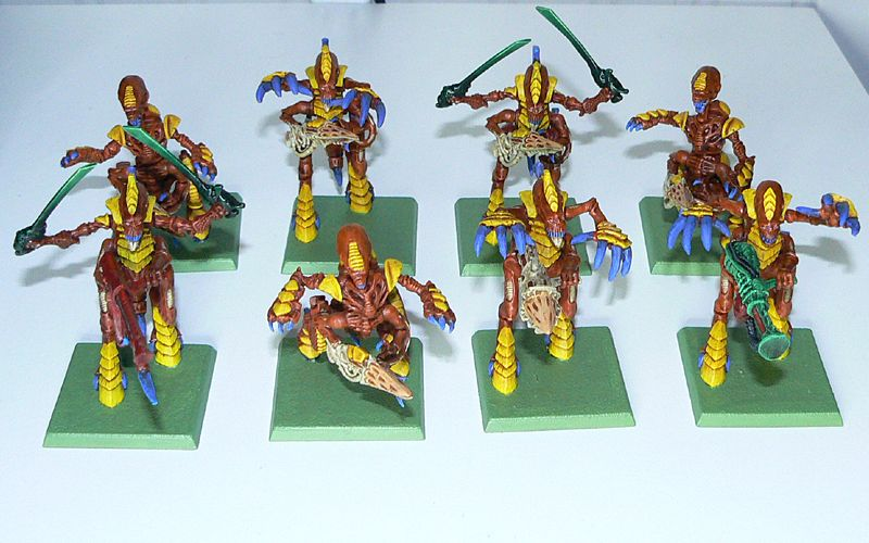 Tyranid Warriors done at last