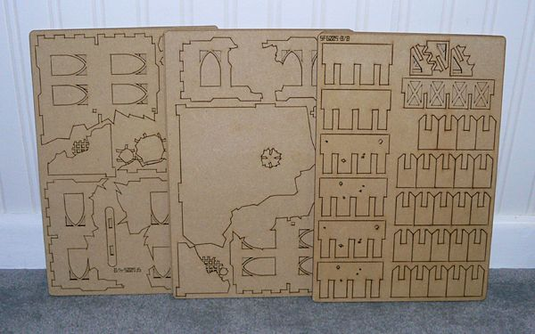 My first ever MDF terrain waits for my attention