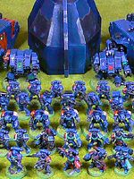 Storm Tigers Space Marines Army