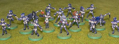 Ladies Of The Might Dark Elf Team