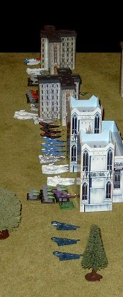 The Eldar tanks get ready to pop up...