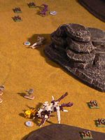 Tyranids and Space Marines clash