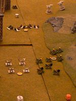 The Space Wolves and their Titan allies thwart an Ork invasion