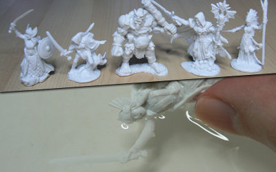 The very bendy Reaper Bones models