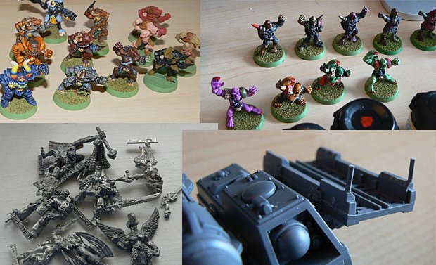 Blood Bowl, stripping & conversions