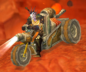 Ratchet, the Goblin Trike