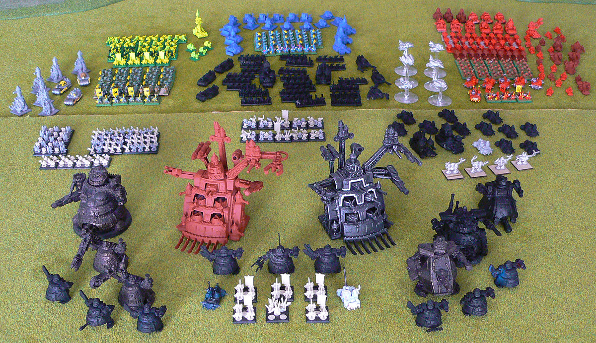 Epic Ork army<br />Photo taken February 2015